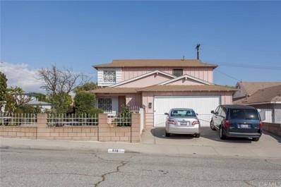 816 San Angelo Avenue, Montebello, CA 90640 - MLS#: MB18181048