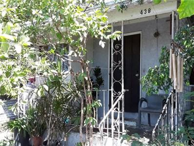 438 Sloat Street, Los Angeles, CA 90063 - MLS#: MB18188746