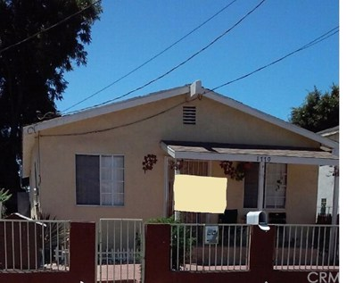 1770 E 108th Street, Los Angeles, CA 90059 - MLS#: MB19043602