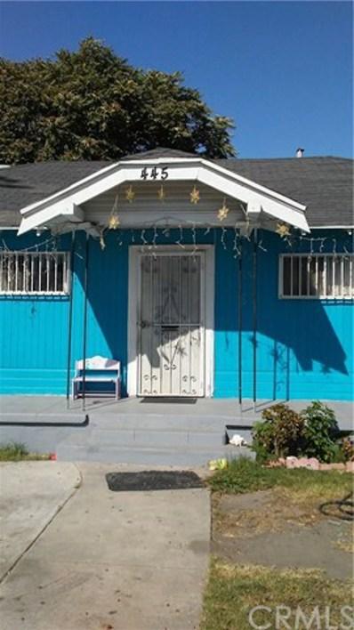 445 W 81st Street, Los Angeles, CA 90003 - #: MB19238832
