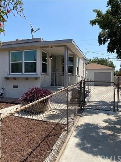 642 S Arizona Avenue, Los Angeles, CA 90022 - MLS#: MB21030234