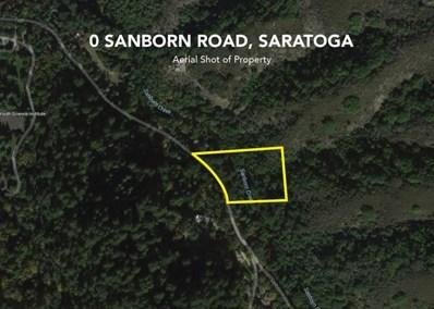 0 Sanborn Road, Saratoga, CA 95070 - MLS#: ML81647548