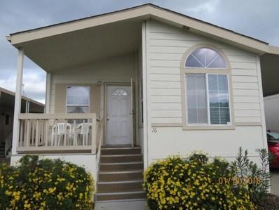 555 Umbarger Road UNIT 76, San Jose, CA 95111 - MLS#: ML81690176