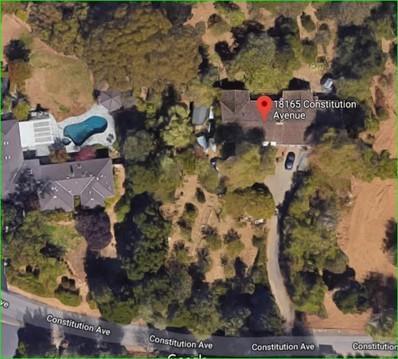18165 Constitution Avenue, Monte Sereno, CA 95030 - MLS#: ML81691354