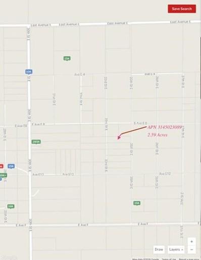 0 Vac\/Vic Avenue E8\/35 Ste, Lancaster, CA 93535 - MLS#: ML81703457