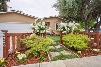 933 Barstow Court, Sunnyvale, CA 94085 - MLS#: ML81705653
