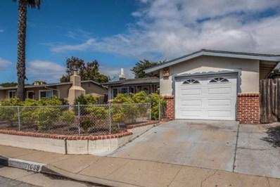 1608 Luxton Street, Outside Area (Inside Ca), CA 93955 - MLS#: ML81707499