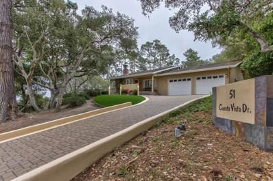 51 Cuesta Vista Drive, Monterey, CA 93940 - MLS#: ML81707603