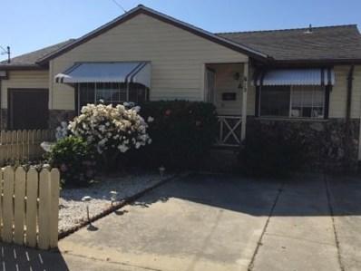 22 Arthur Road, Outside Area (Inside Ca), CA 95076 - MLS#: ML81709403