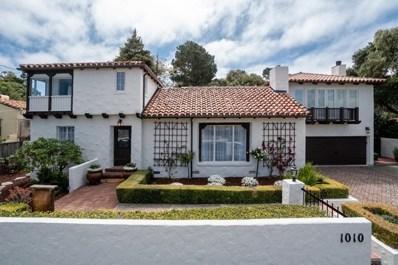 1010 Broncho Road, Pebble Beach, CA 93953 - MLS#: ML81716513