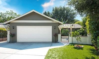 240 Highland Oaks Drive, Los Gatos, CA 95032 - MLS#: ML81717900