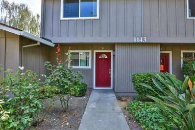 1143 Reed Avenue UNIT B, Sunnyvale, CA 94086 - MLS#: ML81720101