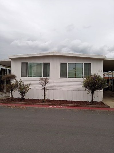 200 BURNETT Avenue UNIT 161, Morgan Hill, CA 95037 - MLS#: ML81777398