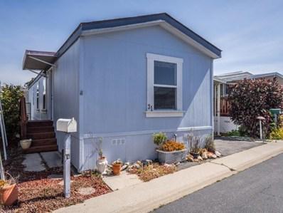 1040 38th Avenue UNIT 31, Santa Cruz, CA 95062 - MLS#: ML81780211