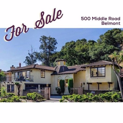 500 Middle Road, Belmont, CA 94002 - MLS#: ML81793965