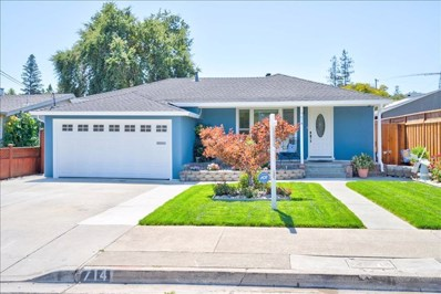 714 Upton Street, Redwood City, CA 94061 - MLS#: ML81805153