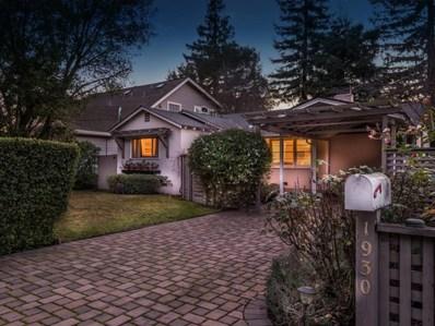 1930 Santa Cruz Avenue, Menlo Park, CA 94025 - MLS#: ML81825984