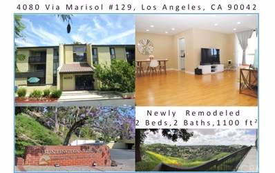 4080 Via Marisol UNIT 129, Los Angeles, CA 90042 - #: ND19189945