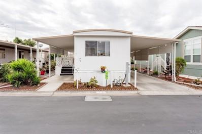 1010 E Bobier Drive UNIT 75, Vista, CA 92084 - MLS#: NDP2003457