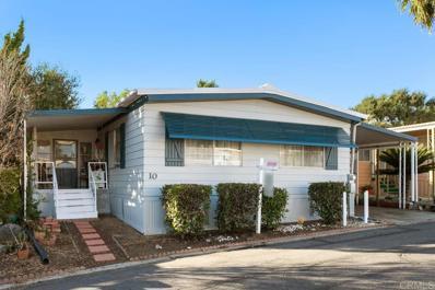 1120 E Mission Road UNIT 10, Fallbrook, CA 92028 - MLS#: NDP2100401