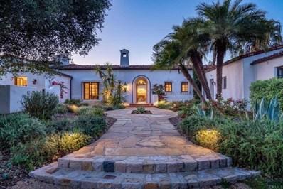 17515 Avenida De Acacias, Rancho Santa Fe, CA 92067 - MLS#: NDP2104782