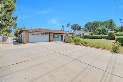 1180 Rees Road, Escondido, CA 92026 - MLS#: NDP2108307