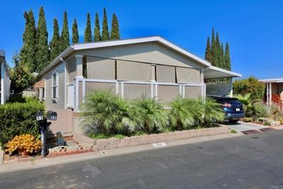 1575 W Valley Parkway UNIT 52, Escondido, CA 92029 - MLS#: NDP2108515