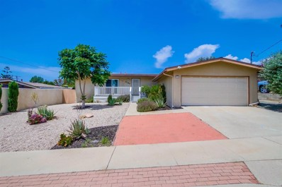 9390 Sisson Street, La Mesa, CA 91942 - MLS#: NDP2108692