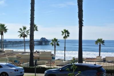 400 N Pacific Street UNIT 121, Oceanside, CA 92054 - MLS#: NDP2110712