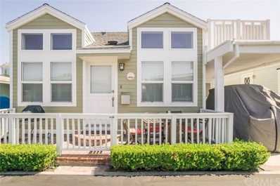3 Bolivar Street UNIT 190, Newport Beach, CA 92663 - MLS#: NP17180281