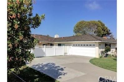 1522 Cornwall Lane, Newport Beach, CA 92660 - MLS#: NP17235433