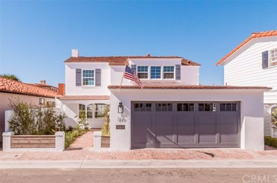 213 Via Mentone, Newport Beach, CA 92663 - MLS#: NP18018098