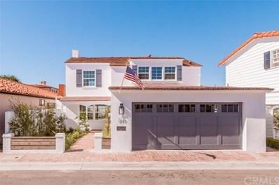 213 Via Mentone, Newport Beach, CA 92663 - MLS#: NP18018098