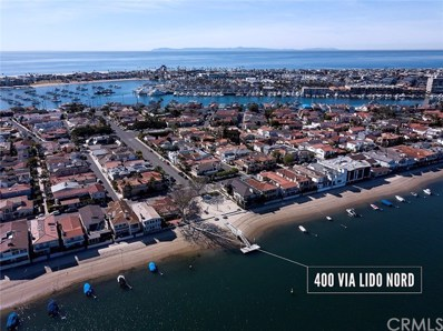400 Via Lido Nord, Newport Beach, CA 92663 - MLS#: NP18022296