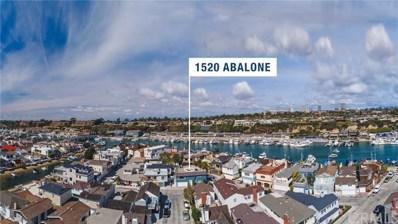 1520 Abalone Place, Newport Beach, CA 92662 - MLS#: NP18067161