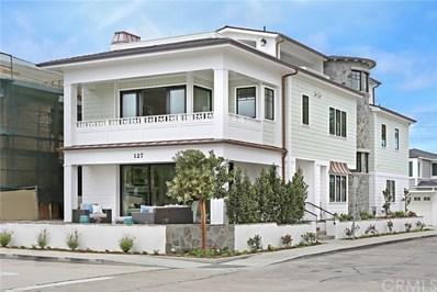 127 Ruby Avenue, Newport Beach, CA 92662 - MLS#: NP18069956