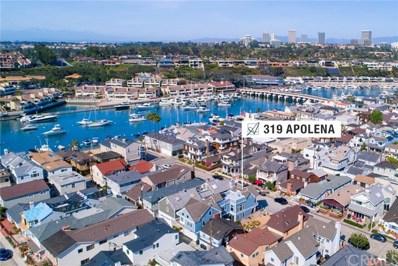 319 Apolena Avenue, Newport Beach, CA 92662 - MLS#: NP18082872