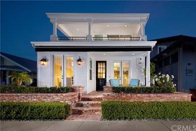 208 Ruby Avenue, Newport Beach, CA 92662 - MLS#: NP18089088