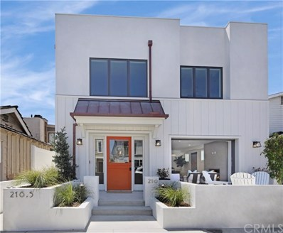 216 33rd Street, Newport Beach, CA 92663 - MLS#: NP18128171