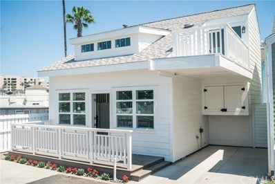 1 Bolivar Street UNIT 189, Newport Beach, CA 92663 - MLS#: NP18185030