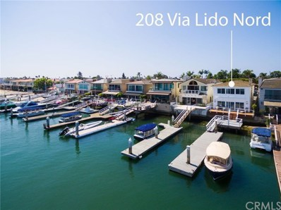 208 Via Lido Nord, Newport Beach, CA 92663 - MLS#: NP18194033