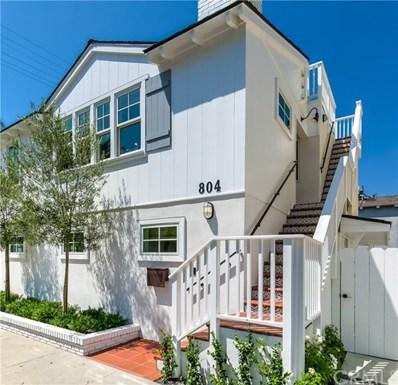 804 Park Avenue, Newport Beach, CA 92662 - MLS#: NP18202815