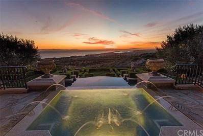 7 Pelican Vista Drive, Newport Coast, CA 92657 - MLS#: NP18244352