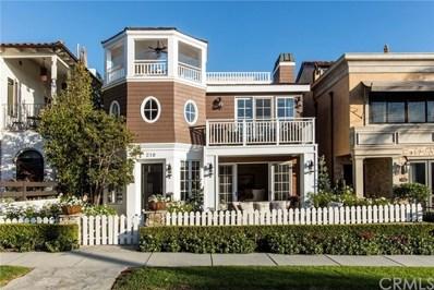 210 Narcissus Avenue, Corona del Mar, CA 92625 - MLS#: NP18244866