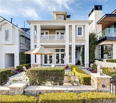 217 Orchid Avenue, Corona del Mar, CA 92625 - MLS#: NP19023176