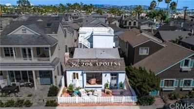 206 Apolena Avenue, Newport Beach, CA 92662 - MLS#: NP19046467