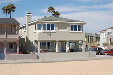 600 W Oceanfront, Newport Beach, CA 92661 - MLS#: NP19146817