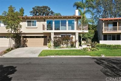 409 Vista Grande, Newport Beach, CA 92660 - MLS#: NP19184491
