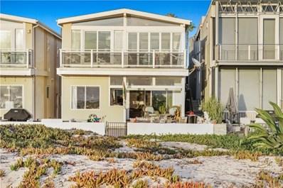 7404 W Oceanfront, Newport Beach, CA 92663 - MLS#: NP19283539