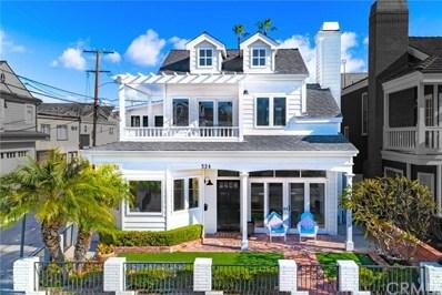 324 Diamond Avenue, Newport Beach, CA 92662 - MLS#: NP20012303